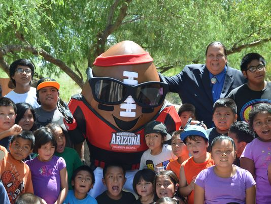"""""""Spike"""" Returns as Arizona's Super Bowl Mascot with a New Look"""