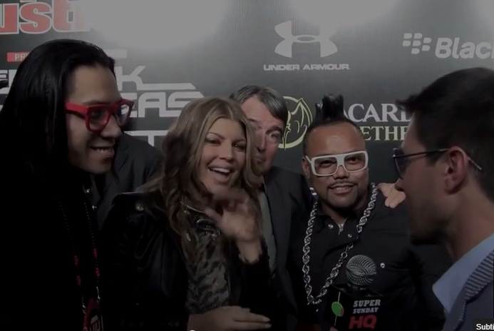 Black Eyed Peas Sports Illustrated Super Bowl Party
