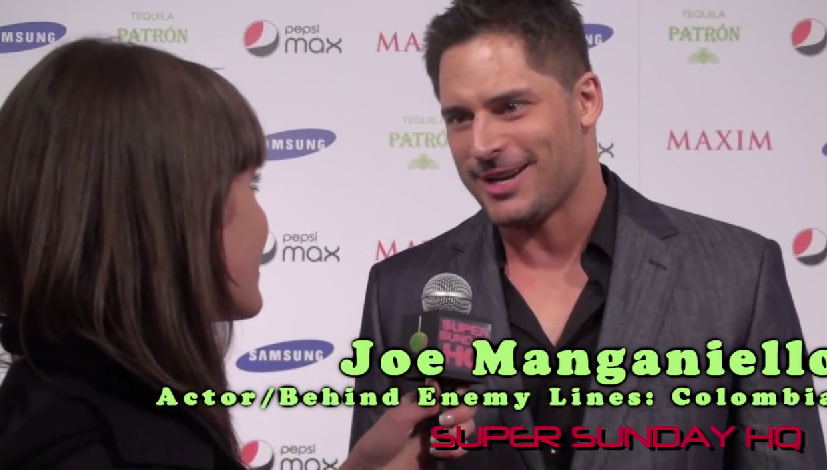 Joe Manganiello Maxim Super Bowl Party