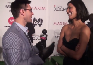 Olivia Munn Maxim Super Bowl Party