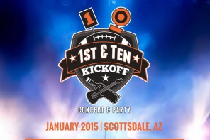 1st and Ten Kickoff Concert and Party