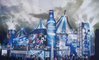 Bud Light Super Bowl Party House of Whatever
