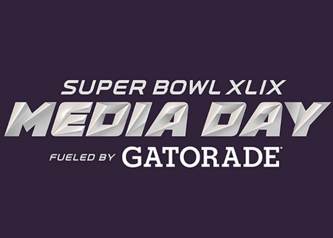 2015 Super Bowl XLIX Media Day Tickets