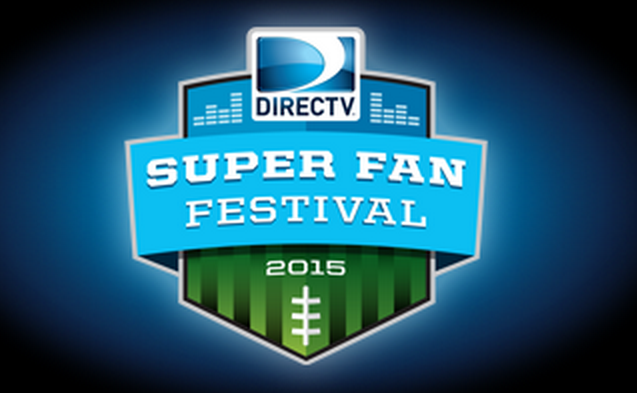 DirecTV Super Fan Festival Super Bowl Party