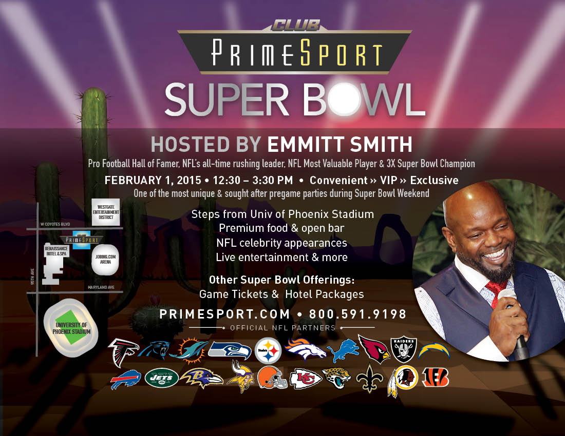 PrimeSport Super Bowl Party