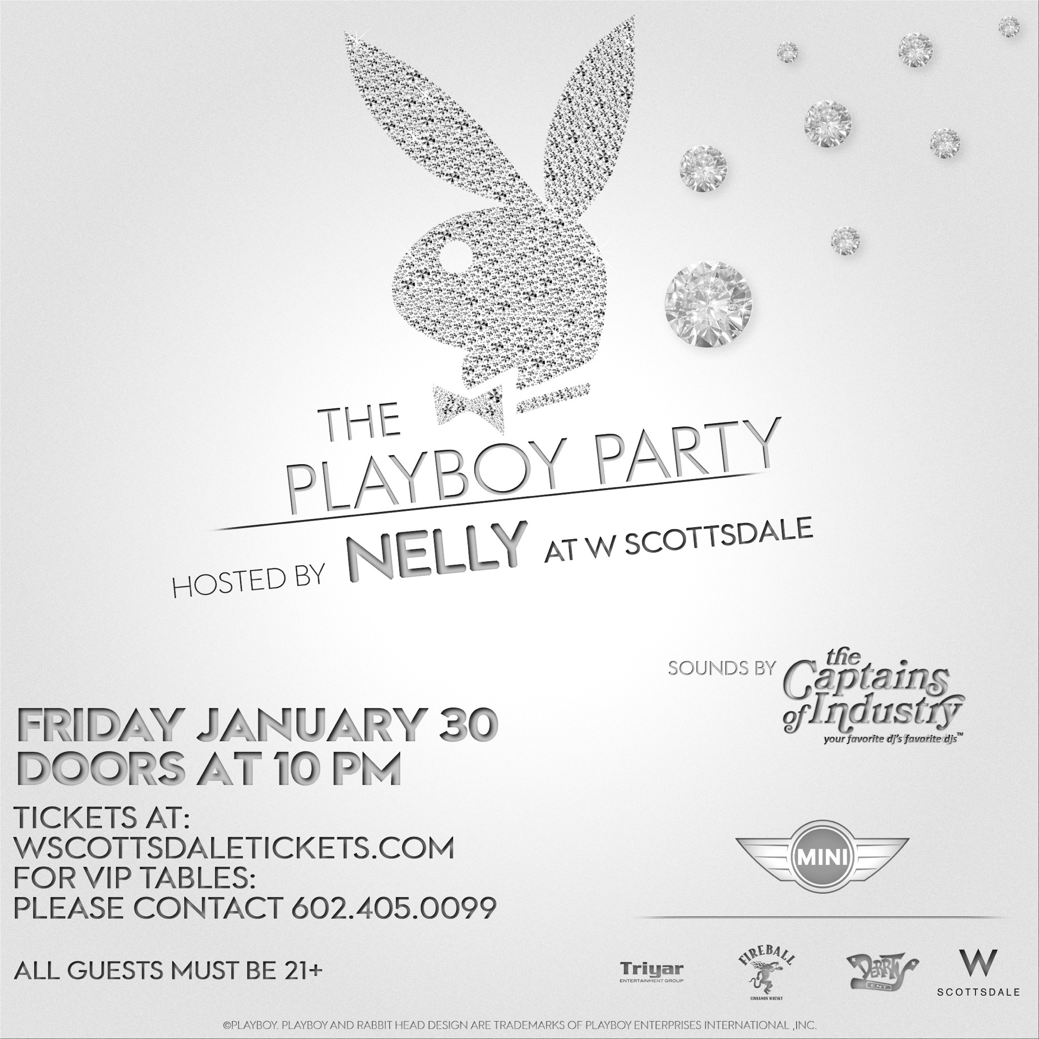 2015 Playboy Super Bowl Party Arizona W Hotel