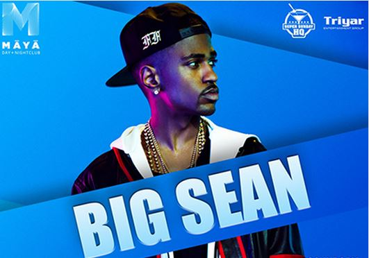 Big Sean Super Bowl Party at Maya