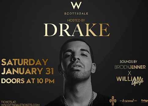 Drake 2015 Arizona Super Bowl Party W Scottsdale header