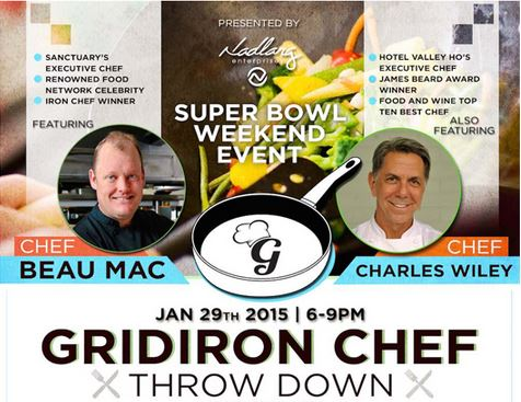 Gridiron Chef Throwdown