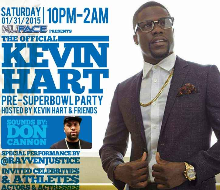 Kevin Hart Super Bowl Party