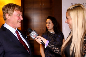 """VIDEO: Simeon Rice, Leigh Steinberg, The Ting-Tings, & More at The Moves Magazine """"Night Moves"""" Party"""
