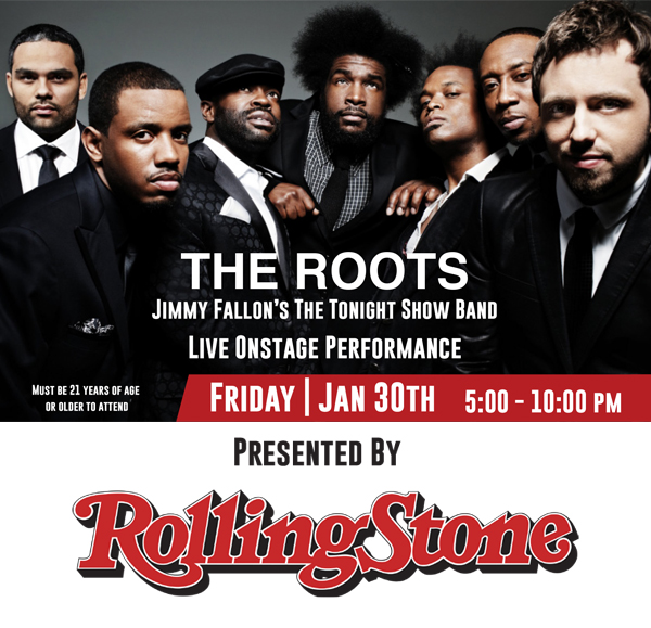 The Roots All In Super Bowl Party