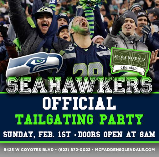 Seahawkers Official Tailgating Party