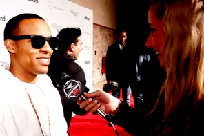 VIDEO: CSI: Cyber Star Bow Wow Hits the Billboard Hollywood Reporter Super Bowl Party in Style!