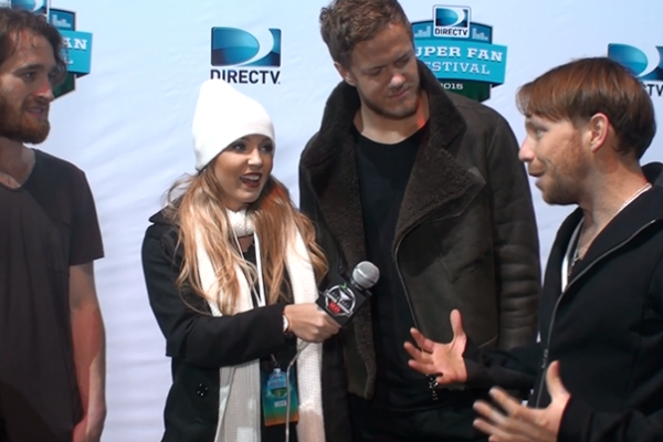 Imagine Dragons Snoop Dogg DIRECTV Super Fan Fest