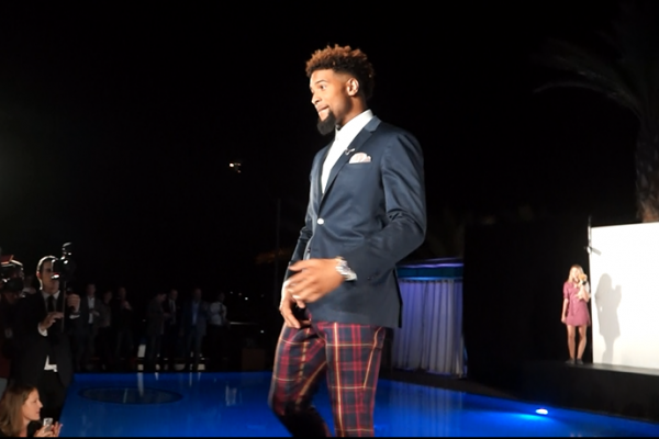 Odell Beckham Jr. Suits & Sneakers Super Bowl Party