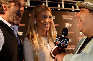 VIDEO: Slade Smiley And Gretchen Rossi Talk Secret to Relationships at the Rolling Stone Super Bowl Party