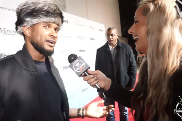 Usher Super Bowl Party Hollywood Reporter Billboard