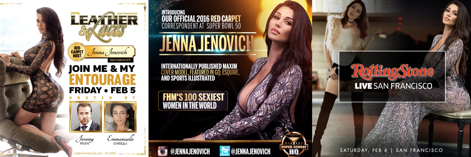 Jenna Jenovich SF Super Bowl Parties