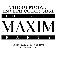 Maxim Super Bowl Party