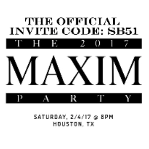 ONE OF OUR TOP PICKS: THE MAXIM SUPER BOWL PARTY 2017