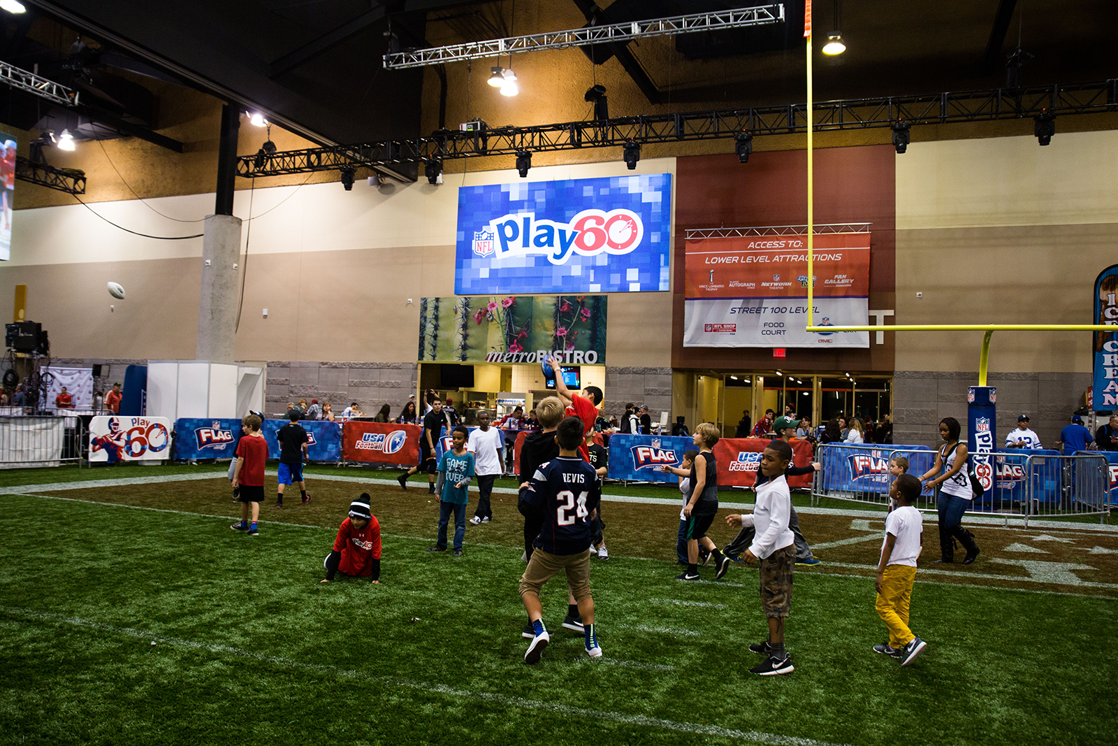 NFL Experience Super Bowl 50 Moscone Center San Francisco