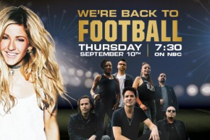 Ellie Goulding and Train To Perform Live in San Francisco as part of the 2015 NFL Kickoff presented by Hyundai