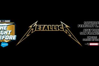 Metallica Super Bowl Party AT&T Park San Francisco Super Bowl 50 Parties #SB50