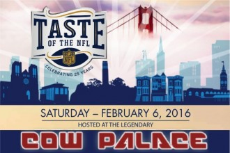 Taste of The NFL Super Bowl 50 Party San Francisco Cow Palace 2016