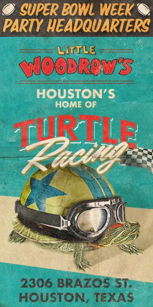 THURSDAY NIGHT! LITTLE WOODROW'S MIDTOWNLIVE TURTLE RACING AT 6PM!