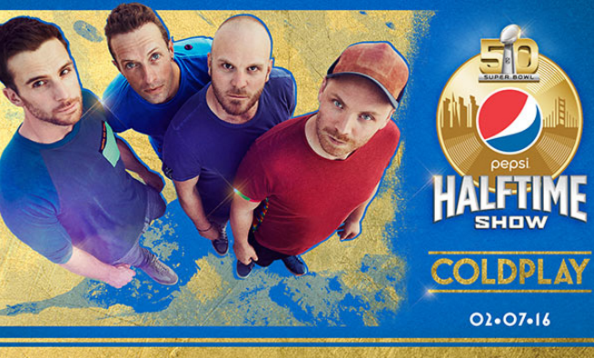 Coldplay Pepsi Super Bowl Halftime Show