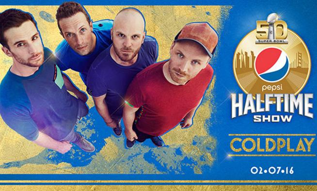 Coldplay Pepsi Super Bowl Halftime Show
