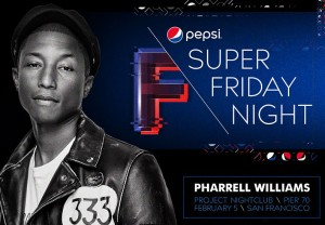 DirecTV Super Friday Night Pharrell Pier 70 Tickets