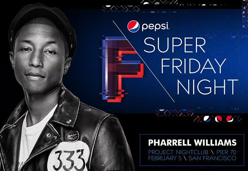 DirecTV Super Friday Night Pharrell Pier 70 Tickets