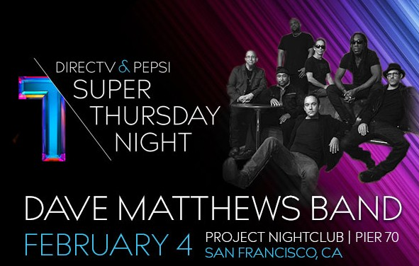 directv super bowl concert at pier 40