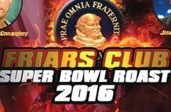 Friars Club Super Bowl 2016 Roast