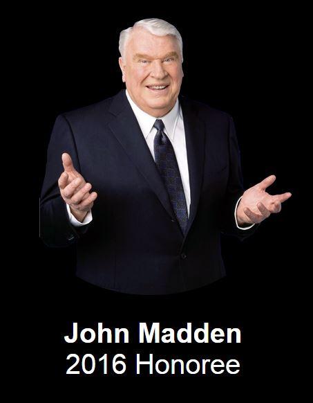 John Madden Legends for Charity San Francisco Super Bowl 50
