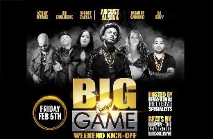 Big Game Weekend Kickoff Studio 8 SJ