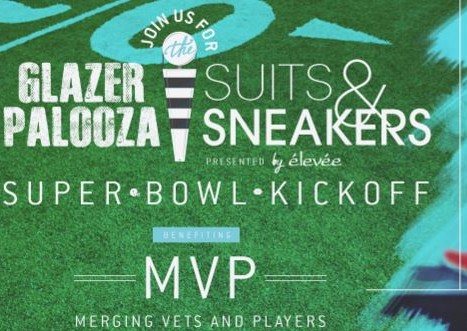 Glazer Palooza Suits and Sneakers Super Bowl Party 2016