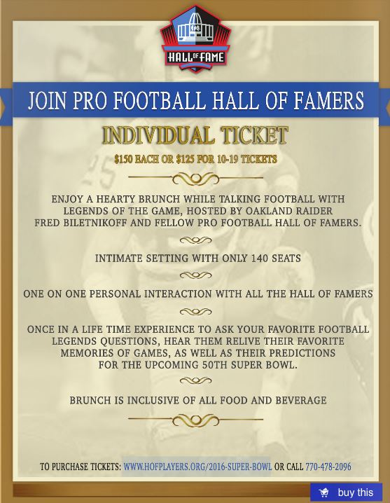 HOF Ticket