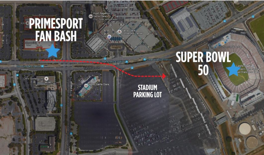 PrimeSport Fan Bash Map