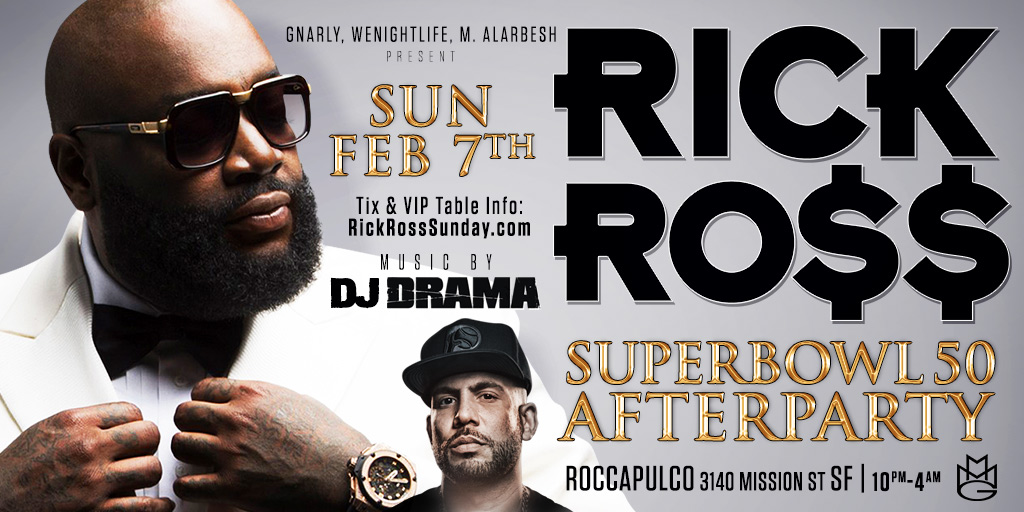 Rick Ross Super Bowl Party Roccapulco 2016 50