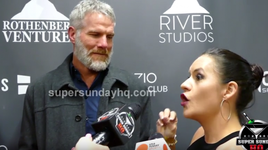 brett-favre-jen-welter-super-bowl-party-2016