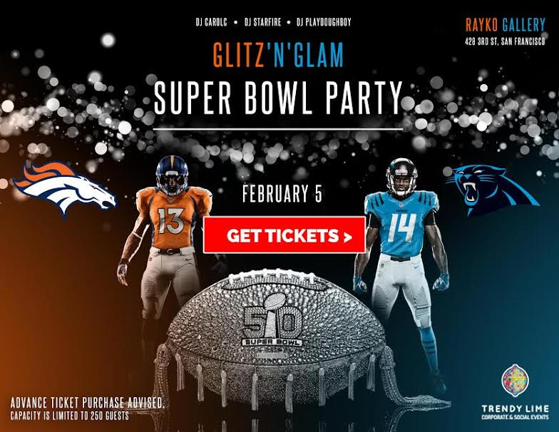 MINNESOTA SUPER BOWL PARTIES 2018 | GLITZ'N'GLAM