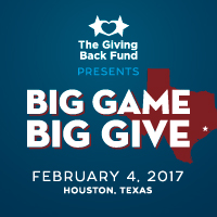 Big Game Big Give 2017 Houston Super Bowl Party