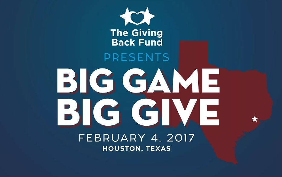Big Game Big Give Houston Super Bowl Party 2017