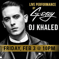 DJ Khaled G-Eazy Super Bowl Party Houston 2017 VIP Tickets