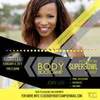 Elise Neal Super Bowl Houston Event 2017