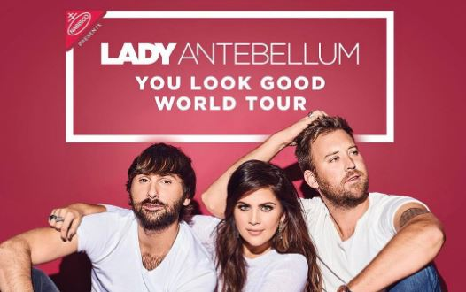 Lady Antebellum Super Bowl Party