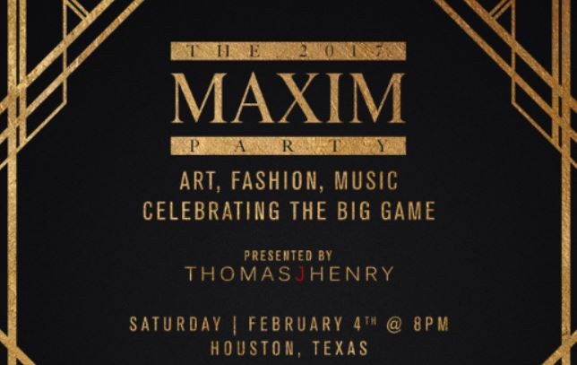 Maxim Super Bowl Party Houston Tickets SB51 Super Bowl Party Events 2017